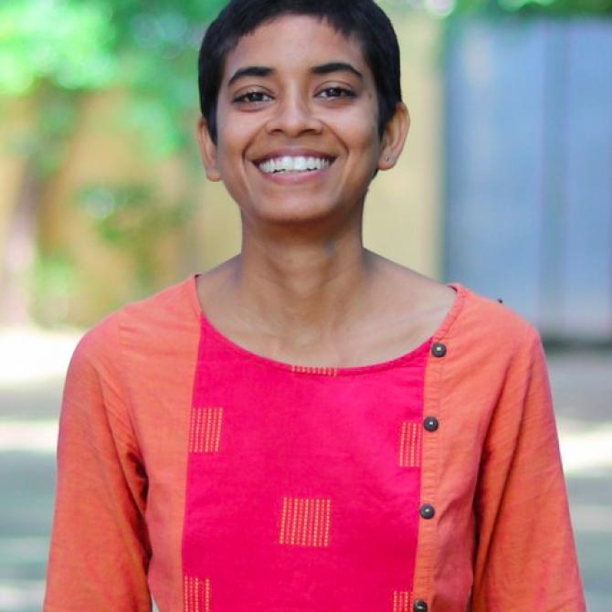 Suruthi Naidu, India